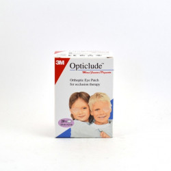 3M Opticlude 20 Pansements Orthoptiques Occulsifs Junior