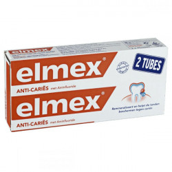 Elmex Junior dentifrice  6 à 12 ans 2 x 75 ml