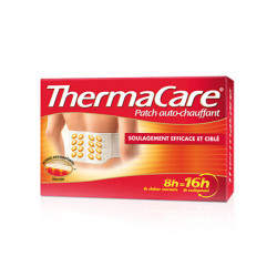 Thermacare 4 Patchs Chauffants Dos