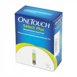 Bandelettes OneTouch Select® Plus B/100