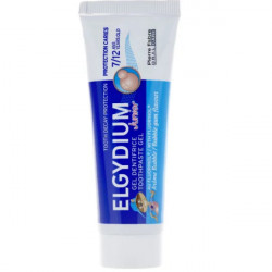 Elgydium Gel Dentifrice Junior Protection Caries 7/12 Ans Arôme Bubble 50 ml