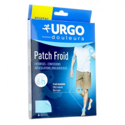 Urgo patch froid 6 patchs
